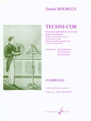 Techni-Cor Volume 4 - Synchronismes Daniel Bourgue laflutedepan