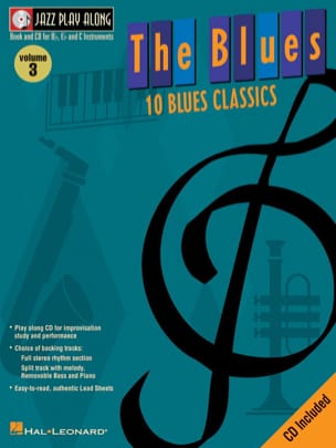 Jazz play-along volume 3 - The Blues Partition Jazz - laflutedepan