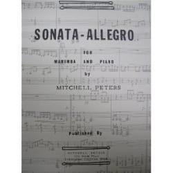 Sonata - Allegro Mitchell Peters Partition Marimba - laflutedepan