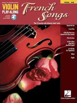 Violin Play-Along Volume 44 French Songs Partition laflutedepan