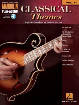 Mandolin Play-Along Volume 11 - Classical Themes laflutedepan
