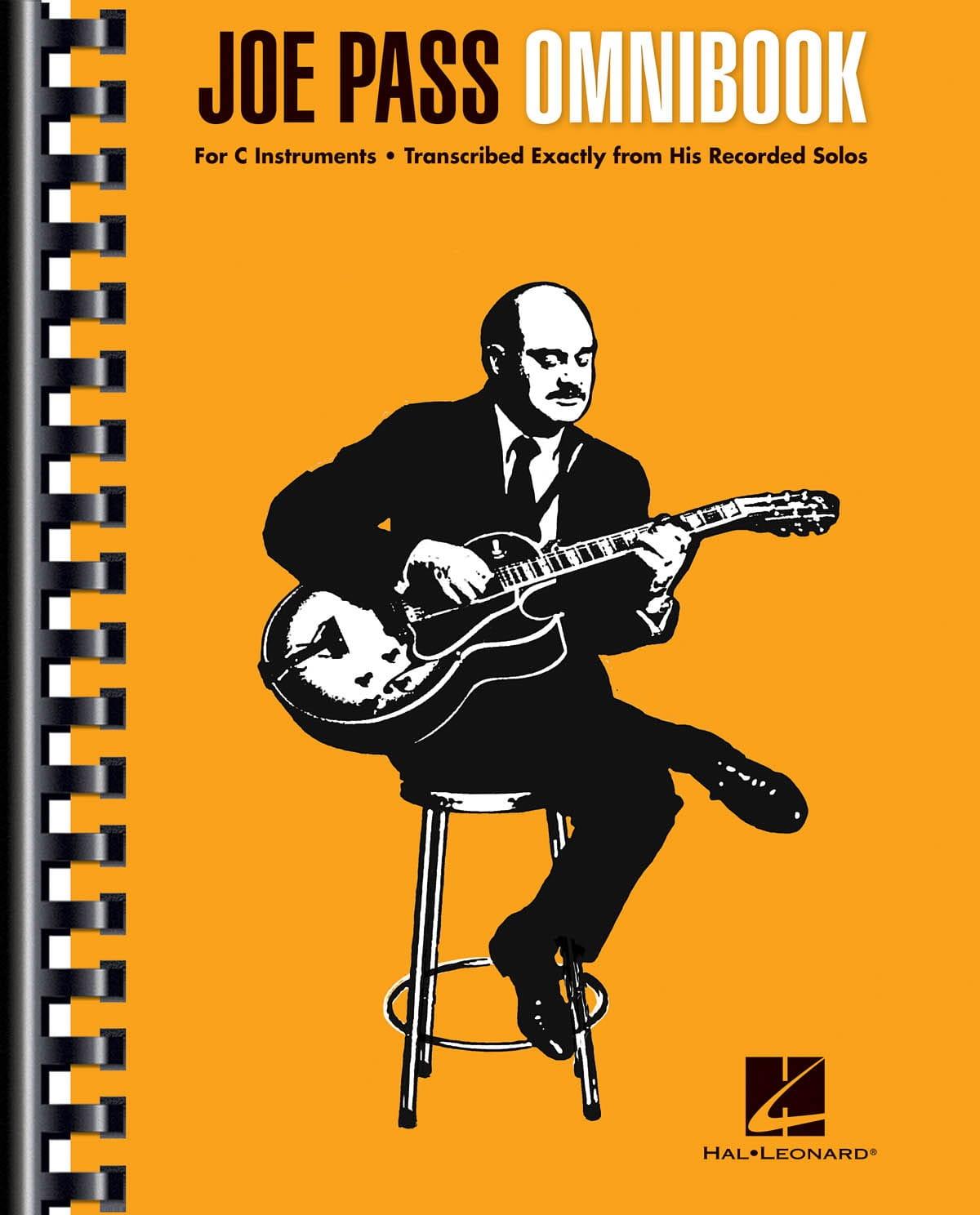 Joe Pass Omnibook - Joe Pass - Partition - Jazz - laflutedepan.com