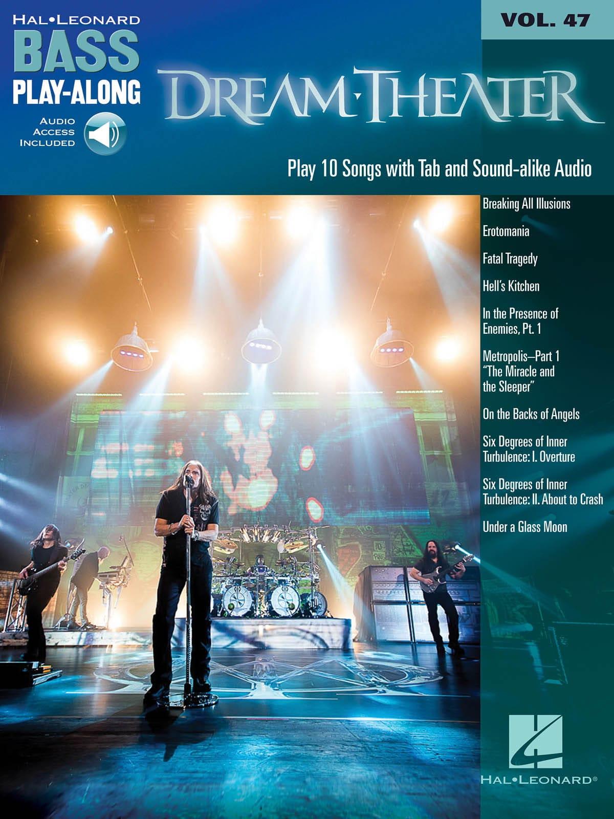 Bass Play-Along Volume 47 - Dream Theater - laflutedepan.com