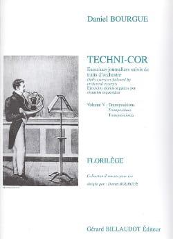 Techni-Cor Volume 5 - Transposition Daniel Bourgue laflutedepan