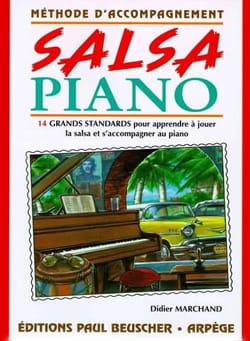 Salsa Piano Didier Marchand Partition Musique du monde - laflutedepan