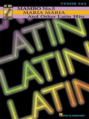 Latin Partition Saxophone - laflutedepan