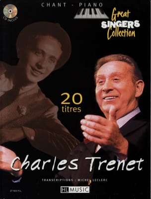 20 Titres Chant Piano Charles Trenet Partition laflutedepan