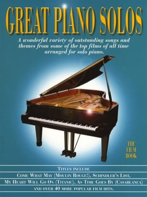 Great piano solos - The film book - Partition - laflutedepan.com