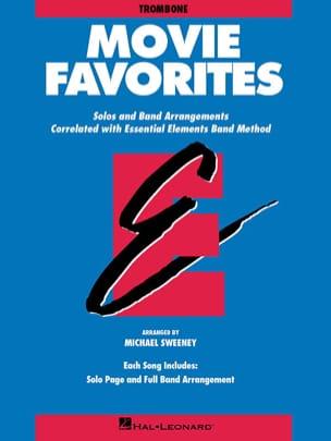Movie Favorites - Trombone Partition ENSEMBLES - laflutedepan