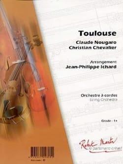 Claude Nougaro - Toulouse - Partition - di-arezzo.com