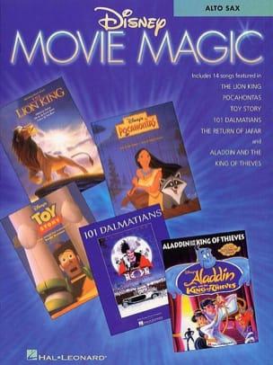 Disney Movie Magic DISNEY Partition Saxophone - laflutedepan
