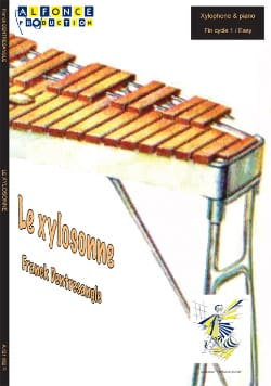Le Xylosonne Franck Dentresangle Partition Xylophone - laflutedepan