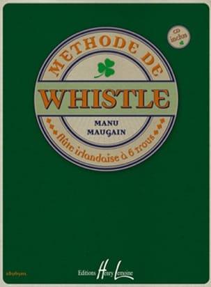 Méthode de Whistle Manu Maugain Partition laflutedepan