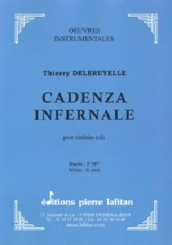Cadenza Infernale Thierry Deleruyelle Partition laflutedepan