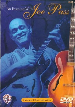DVD - An Evening With Joe Pass Joe Pass Partition Jazz - laflutedepan