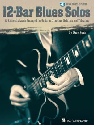 Dave Rubin - 12-Bar Solo Blues - Partition - di-arezzo.co.uk