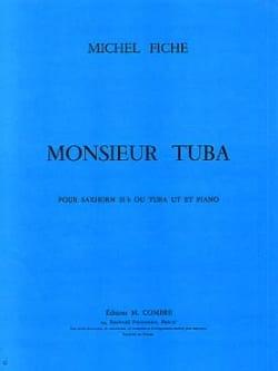 Monsieur Tuba Michel Fiche Partition Tuba - laflutedepan