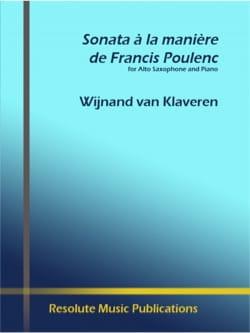 Sonate à La Manière de Francis Poulenc laflutedepan