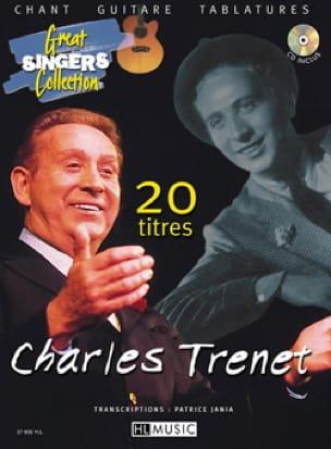 20 Titres Guitare - Charles Trenet - Partition - laflutedepan.com