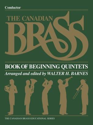 Book Of Beginning Quintets Partition laflutedepan