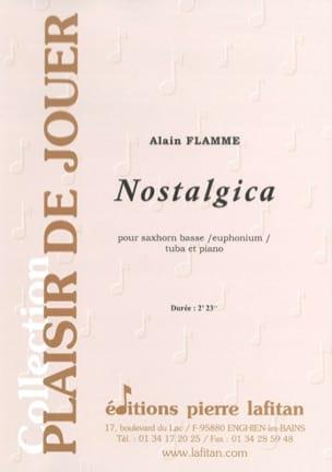 Nostalgica - Alain Flamme - Partition - Tuba - laflutedepan.com
