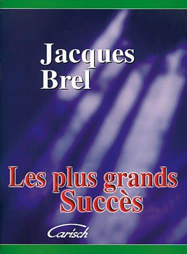 Les plus grands succès - Jacques Brel - Partition - laflutedepan.be