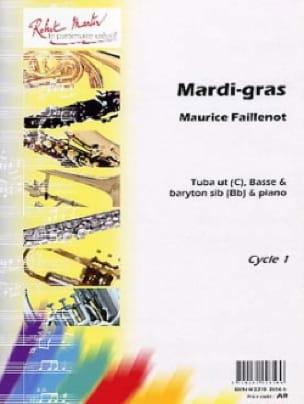 Mardi-Gras - Maurice Faillenot - Partition - Tuba - laflutedepan.com