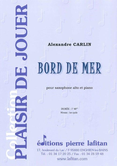 Bord de mer - Alexandre Carlin - Partition - laflutedepan.com
