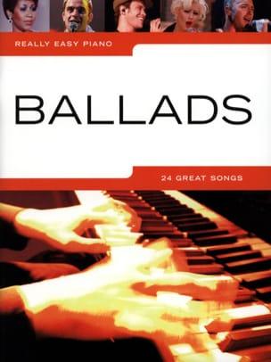 Really easy piano - Ballads Partition Pop / Rock - laflutedepan