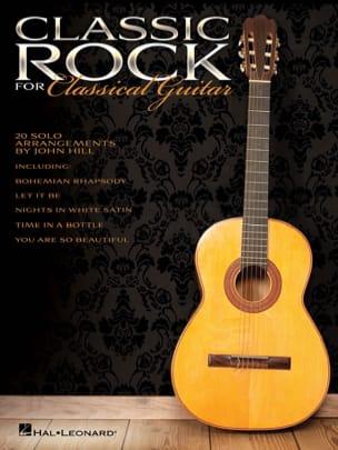 Classic Rock for Classical Guitar Partition Guitare - laflutedepan