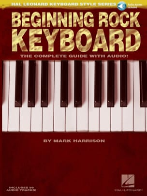 Beginning Rock Keyboard Mark Harrison Partition Piano - laflutedepan
