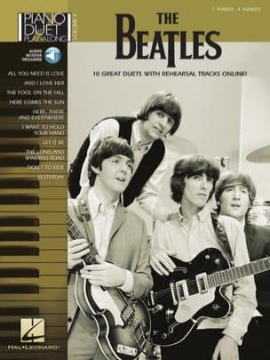 Piano Duet Play-Along Volume 4 - The Beatles - laflutedepan.com