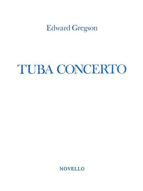 Tuba Concerto - Edward Gregson - Partition - Tuba - laflutedepan.com