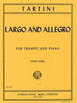 Largo And Allegro TARTINI Partition Trompette - laflutedepan