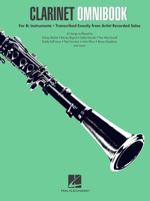 Clarinet Omnibook Partition Clarinette - laflutedepan