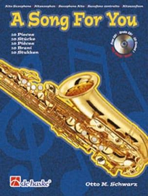 A Song For You Otto M. Schwarz Partition Saxophone - laflutedepan