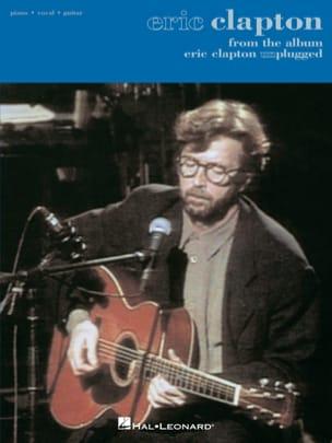 Eric Clapton - Eric Clapton - Unplugged - Partition - di-arezzo.co.uk