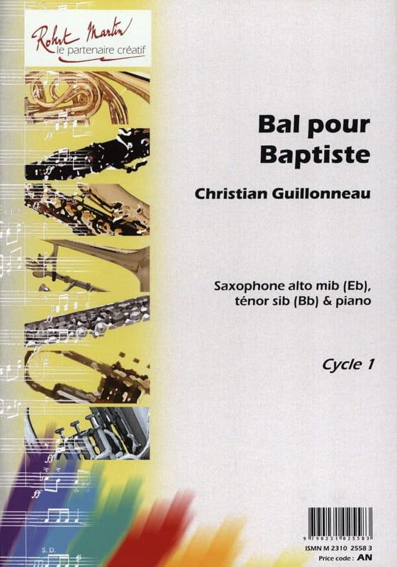 Bal Pour Baptiste - Christian Guillonneau - laflutedepan.com