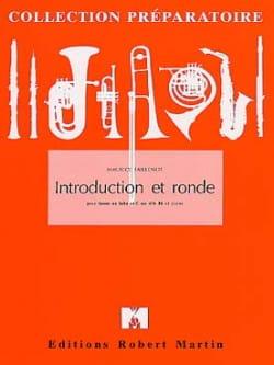 Introduction Et Ronde Maurice Faillenot Partition Tuba - laflutedepan