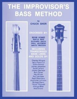 The Improvisor's Bass Method Chuck Sher Partition laflutedepan