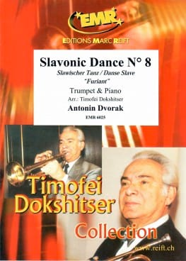 Slawischer Tanz Nr. 5 DVORAK Partition Trompette - laflutedepan