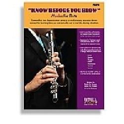 Know Before You Blow - Flûte - Partition - laflutedepan.com