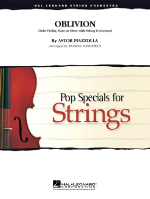 Oblivion - Pop Special for Strings Astor Piazzolla laflutedepan