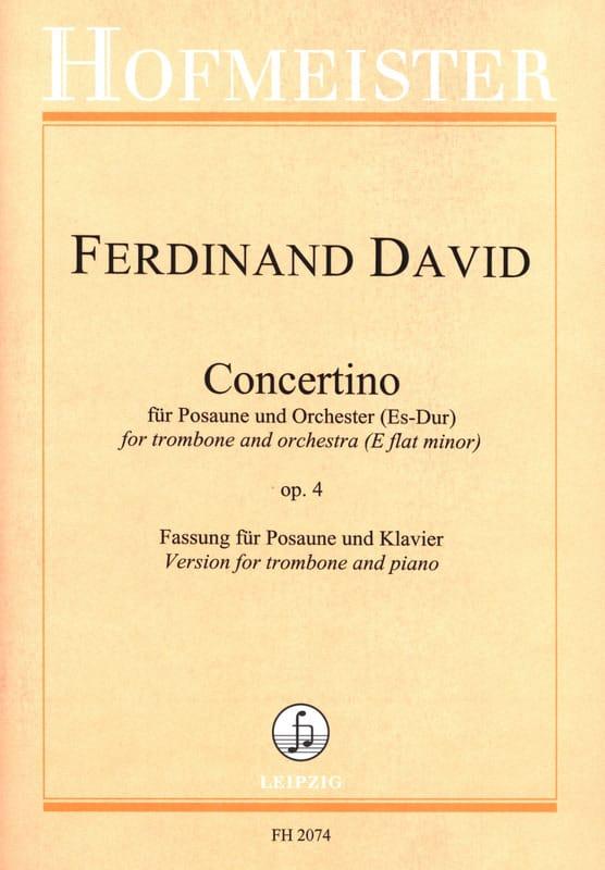 Concertino Es-Dur Opus 4 - Ferdinand David - laflutedepan.com