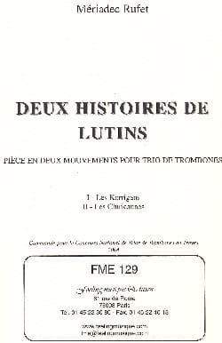 Deux Histoires de Lutins - Les Korrigans / les Cluricaunes laflutedepan