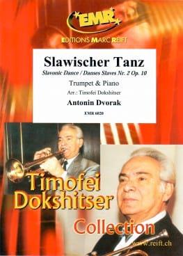 Danse Slave Nr. 2 Opus 10 DVORAK Partition Trompette - laflutedepan