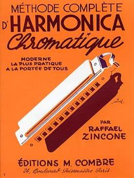 Méthode complète d'harmonica chromatique Raffael Zincone laflutedepan