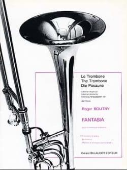 Fantasia Roger Boutry Partition Trombone - laflutedepan
