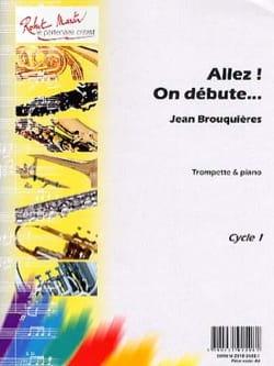 Allez ! On Débute - Jean Brouquières - Partition - laflutedepan.com