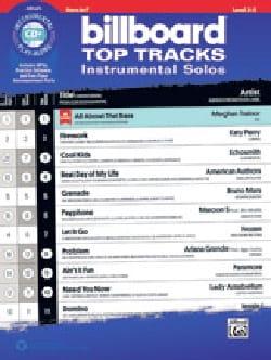 Billboard Top Tracks Instrumental Solos - Partition - di-arezzo.com